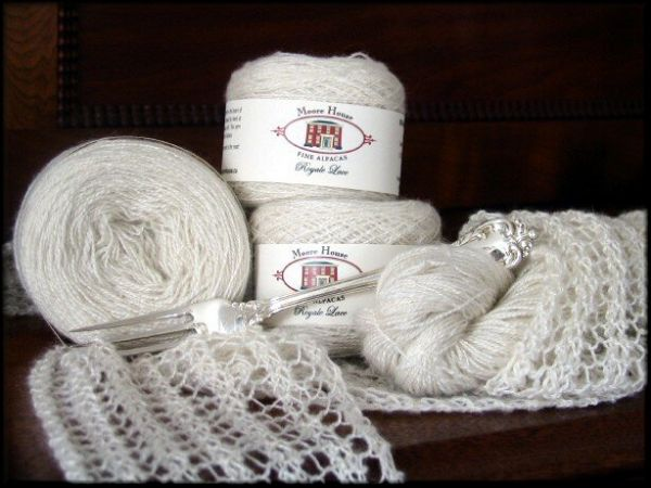Moore House Alpaca Yarn